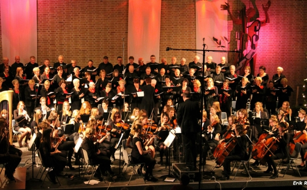 Concert met Friese koren in Joure